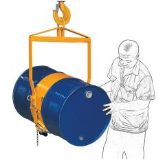 供应和行车吊车配套使用的钢制油桶油桶吊,LM800