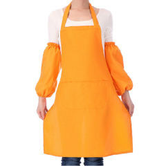 厂家现货批发定做涤棉围裙工作广告围裙专业生产可印logo