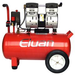 易路安EWS30红色静音无油空压机活塞式气泵小型压缩机木工气钉枪