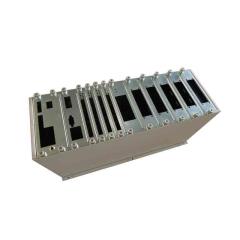 数控钣金加工 钣金插箱定做 不锈钢机箱定制加工 3u机柜插箱