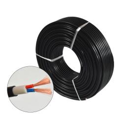 加工定做 电线电缆 硅胶电线国标RVV 2x2.5国标软电线 防水软电缆