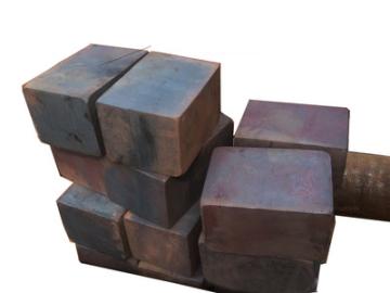 特优 国标级3cr2w8v模块 锻打热作模具钢 锻压模具钢