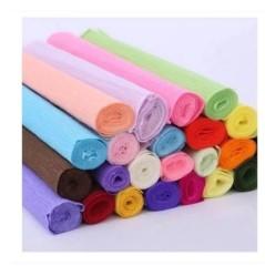 幼儿DIY手工卷边纸 鲜花包装材料批发 皱卷纸 皱纹纸 鲜花包装纸