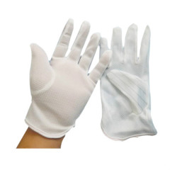 防静电点塑手套防静电手套