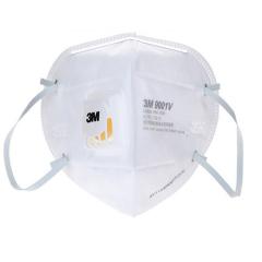 3m防PM2.5带呼吸阀 9001V口罩 防雾霾防尘防护口罩