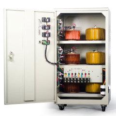 三相高精度伺服式全自动工业用电稳压器