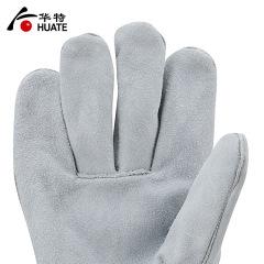 威特仕电焊手套牛皮加长厚双层耐磨隔热阻燃耐高温劳保焊接防护 1#双层